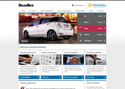 Beadles Motability