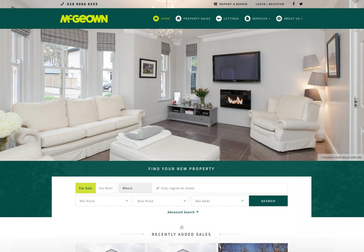 mcgeowns estate gents