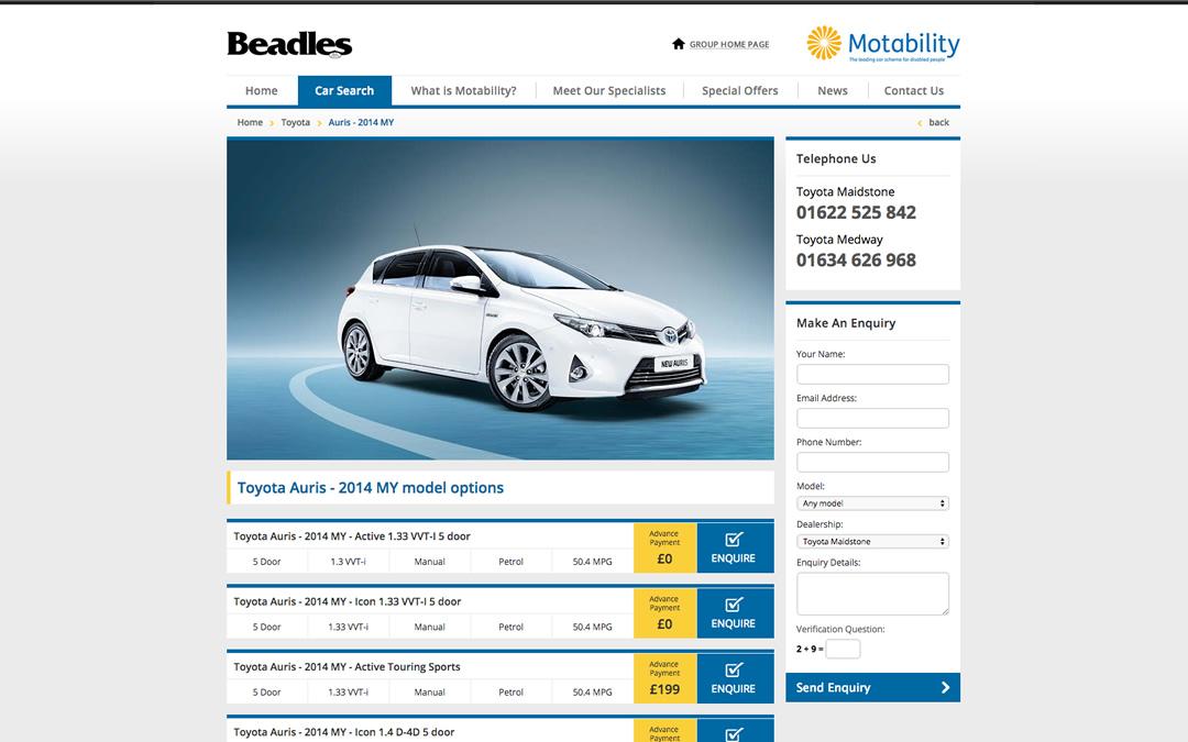 beadles-car-details