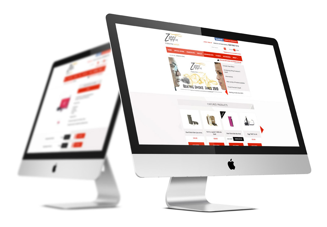 e-Commerce Website Design Belfast