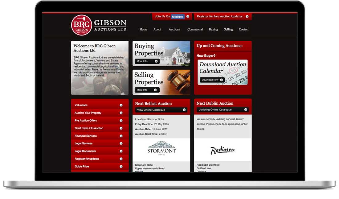 BRG Gibson website