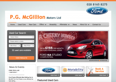 PG McGillion Motors