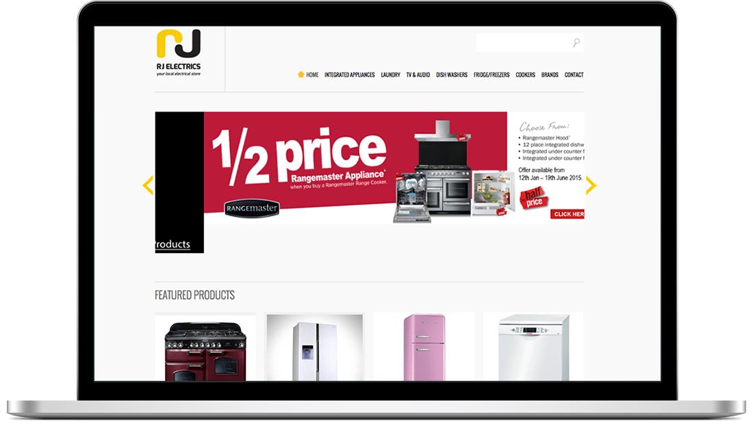RJ Electrics website