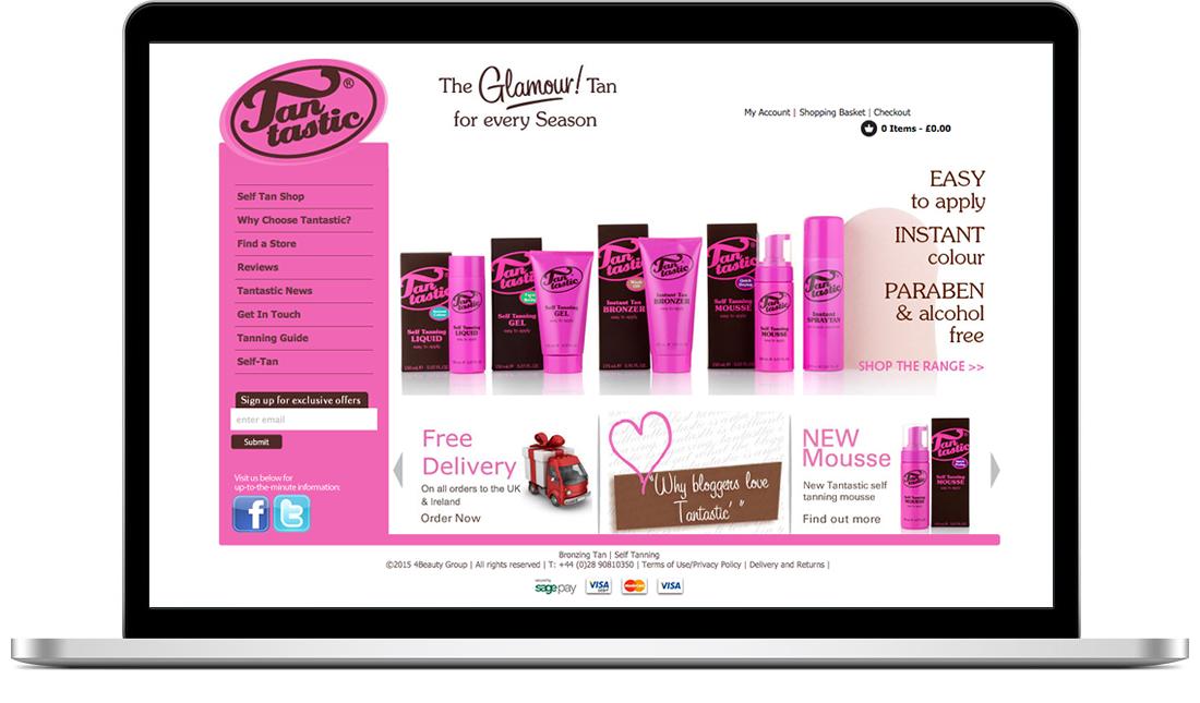 Tantastic website
