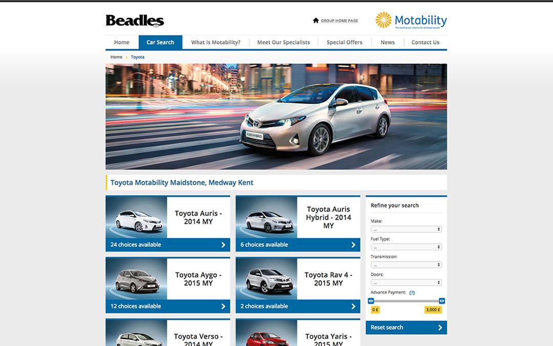 beadles-car-search