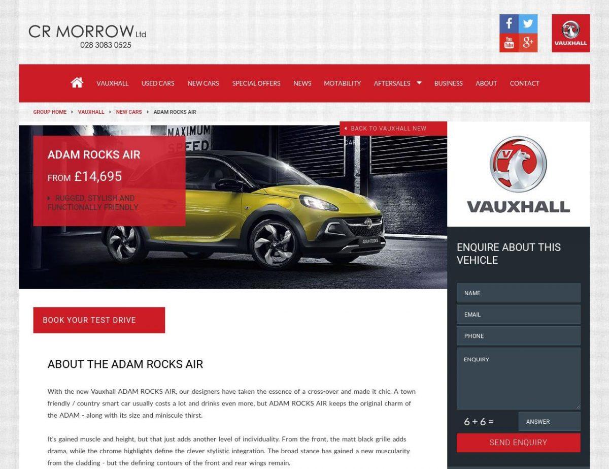 crmorrow new car details