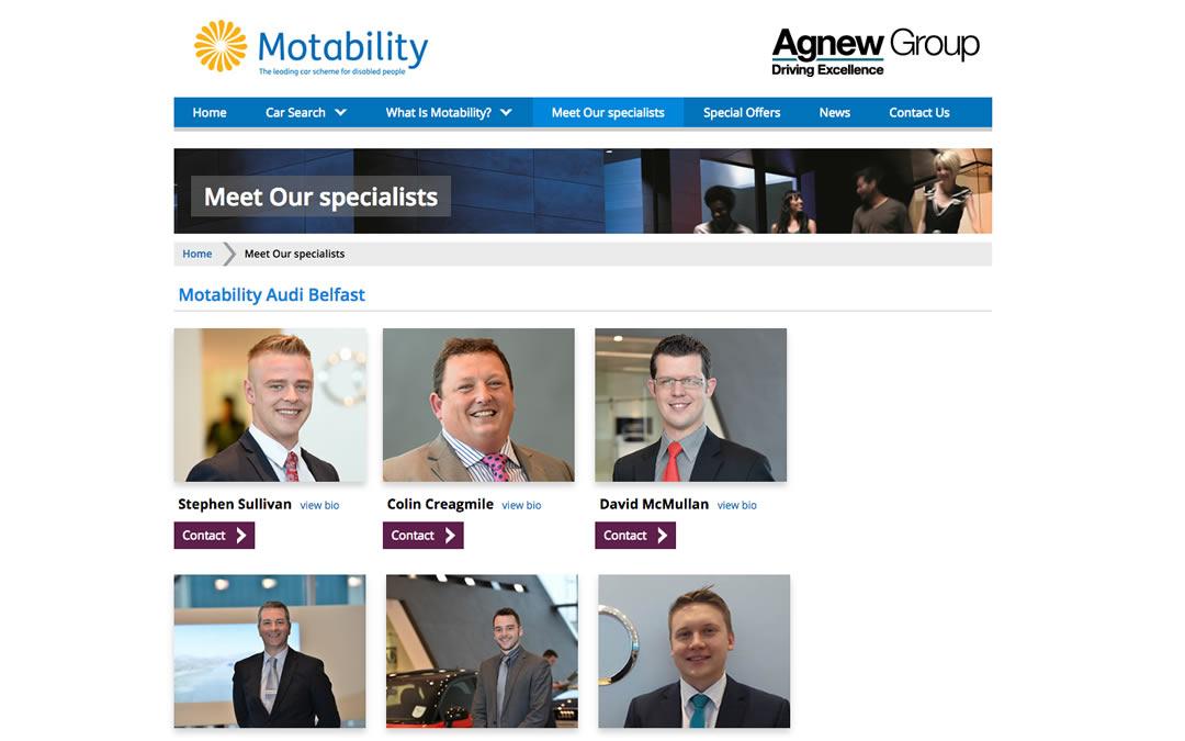 Agnew Motability