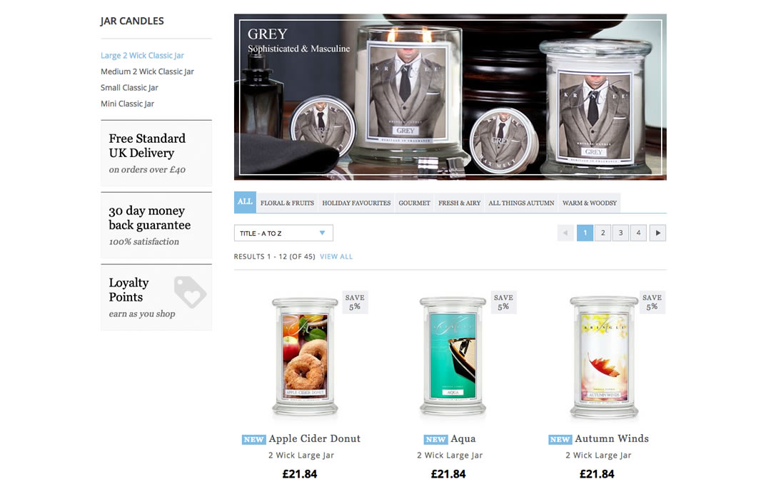 kringle Candles Online