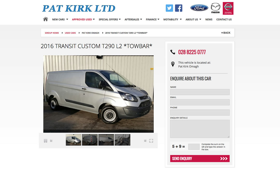 Pat Kirk Used Cars Omagh