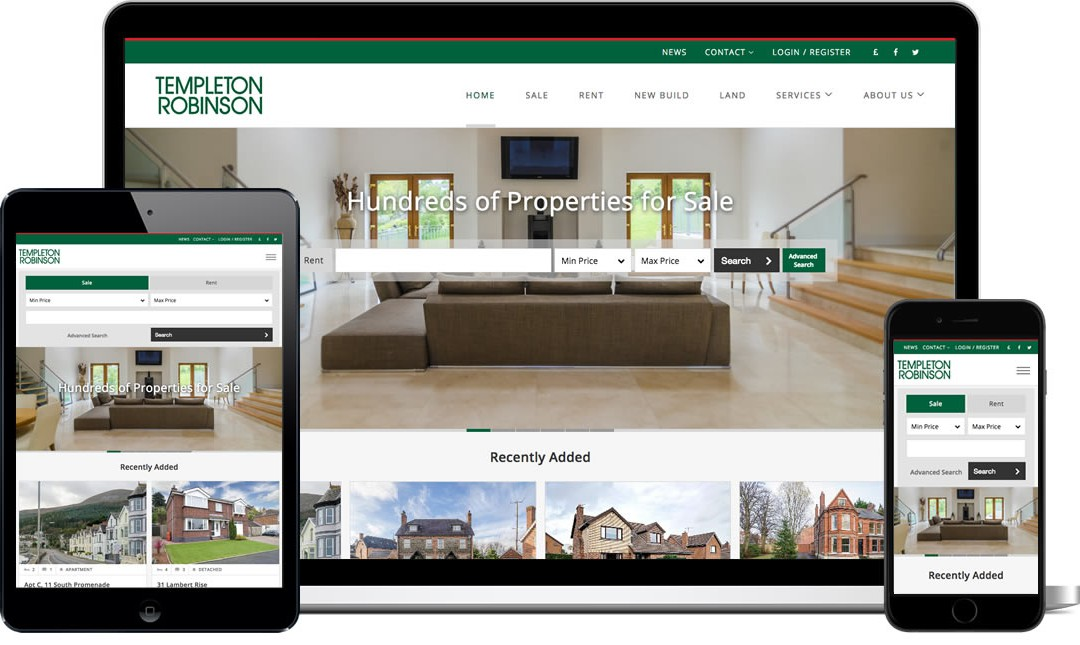 Website Launch for Templeton Robinson