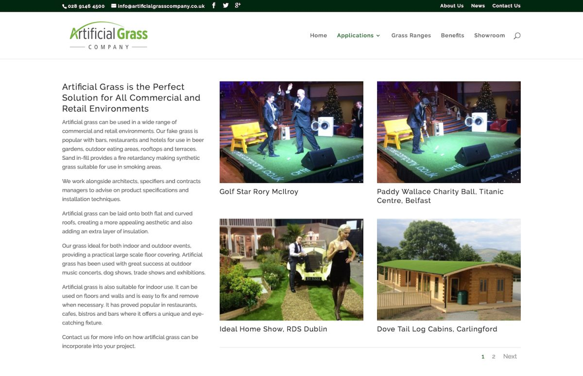 Artificial Grass Company - Commercial