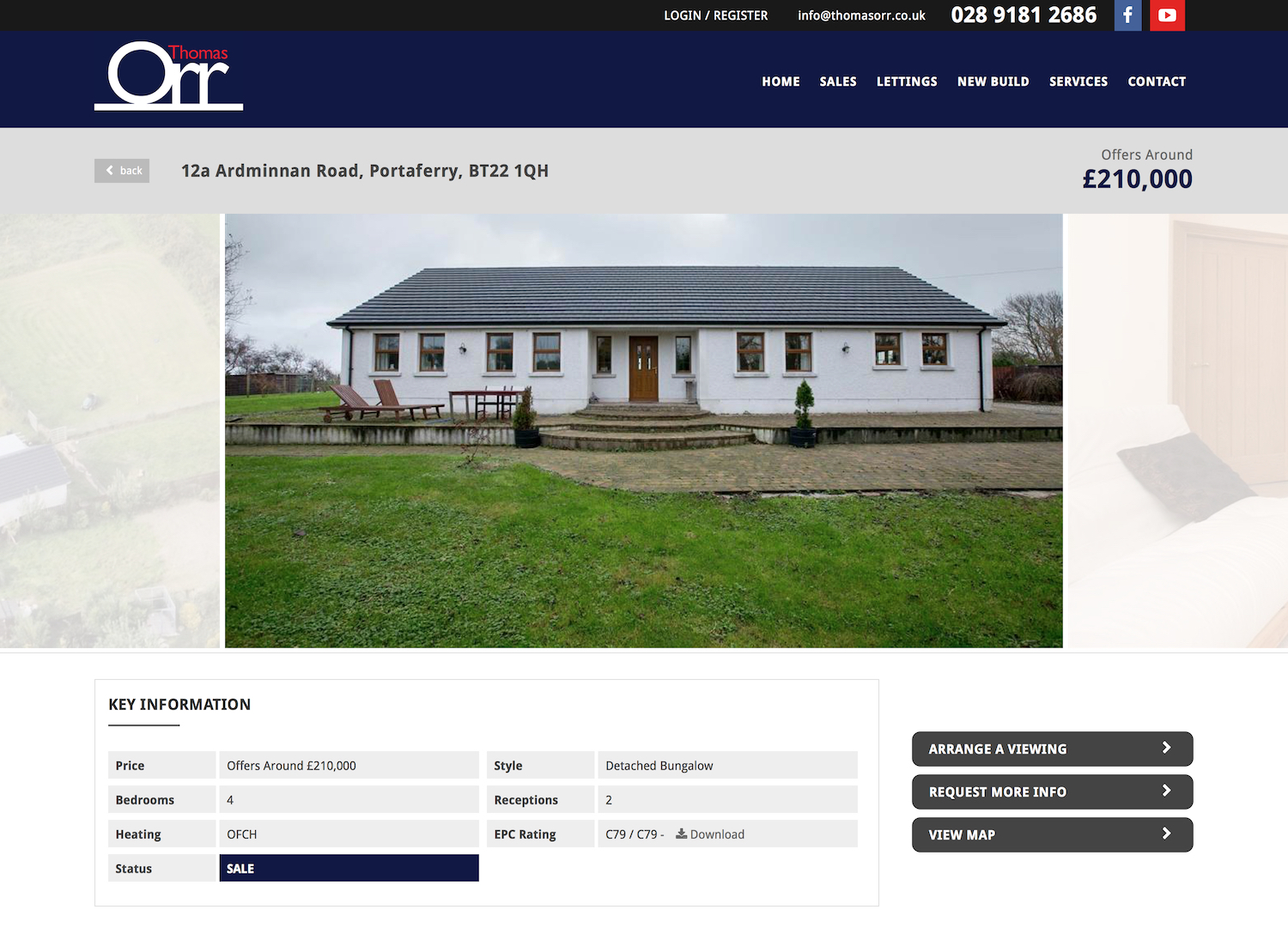 12a Ardminnan Road, Portaferry Property for sale at Thomas Orr agents Northern Ireland