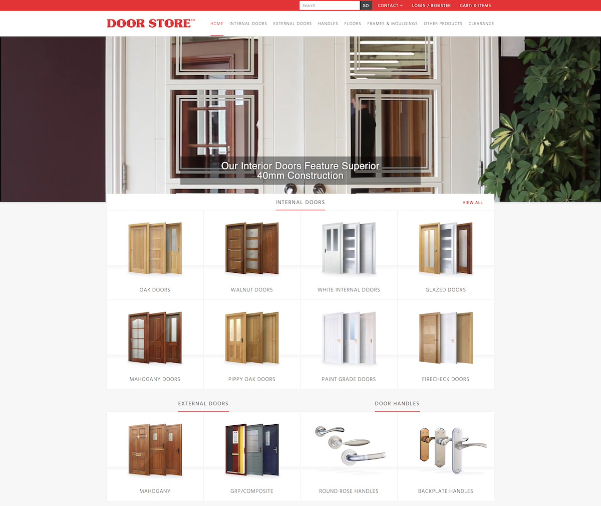 Doors, Interior doors & External doors | The Door Store UK