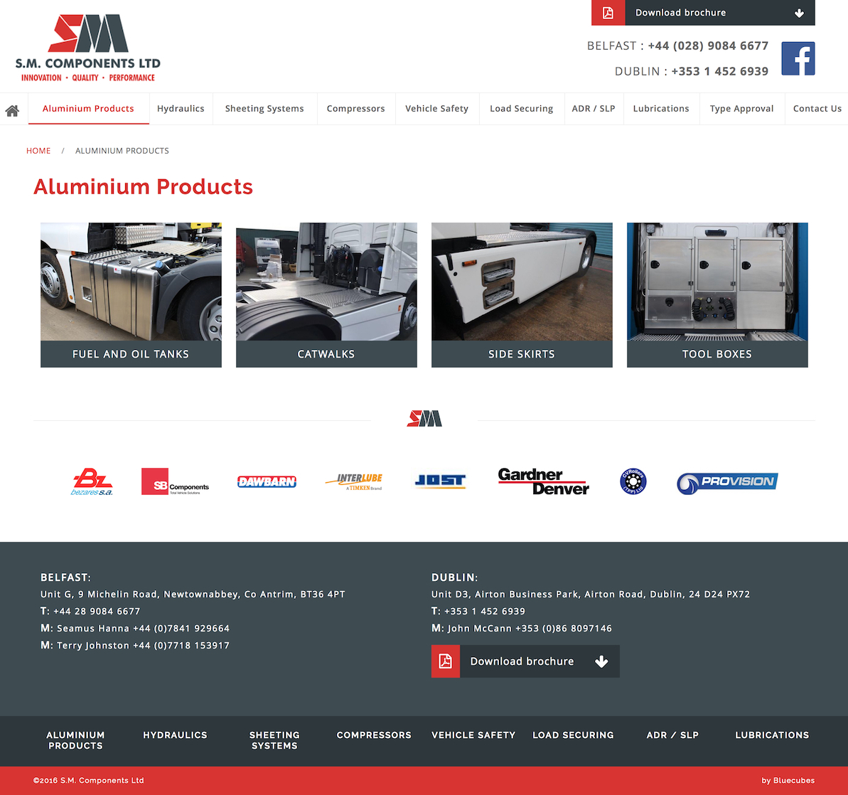 Aluminium Products for sale at SM Components