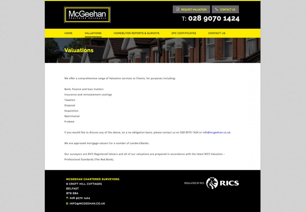 McGeehan Chartered Surveyors