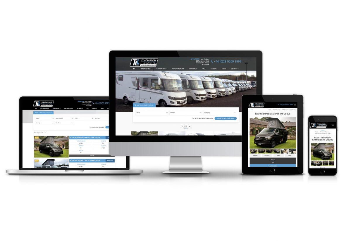 Thompson Leisure website